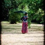 Cie La Poule a Facettes : Plastikos - Le Jardin Singulier, festival du Pannonica, Maison Audubon, Coueron, le 29 juin 2014