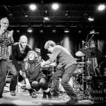L'argent nous est cher de Yves Robert avec Elise Caron,  Stephanus Vivens, Franck Vaillant et Sylvain Thevenard.  Au Pannonica, Nantes, le 30 octobre 2013.